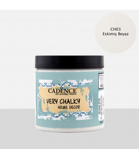 CH03 Eskimiş Beyaz - 500ML Very Chalky Home Decor