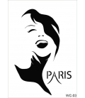 WC3 - Woman Collection CADENCE  A4 Stencil