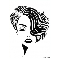 WC5 - Woman Collection CADENCE A4 Stencil