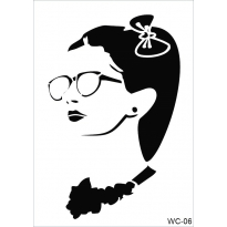WC6 - Woman Collection CADENCE  A4 Stencil