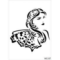 WC7 - Woman Collection CADENCE  A4 Stencil