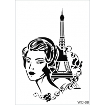 WC8 - Woman Collection A4 Stencil