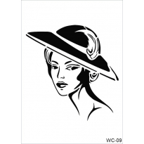 WC9 - Woman Collection A4 Stencil
