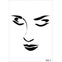 WC11 - Woman Collection CASENCE  A4 Stencil