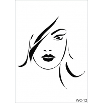 WC12 - Woman Collection A4 Stencil