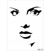 WC13 - Woman Collection CADENCE  A4 Stencil