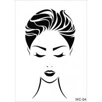 WC4 - Woman Collection  CADENCE  A4 Stencil